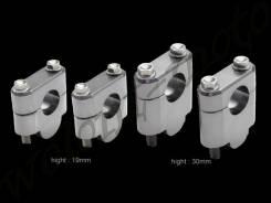Проставки для подъема руля ZETA H:19mm 22.2mmBar Темно серый ZE53-0119