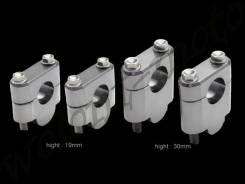 Проставки для подъема руля ZETA H:30mm 22.2mmBar Темно серый ZE53-0130