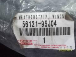 Уплотнитель лобового стекла. Toyota Hiace, LH164, LH174, LH166, LH176, LH102, LH112, LH104, LH114, RZH119, RZH105, RZH103, RZH125, RZH115, LH162, LH18...