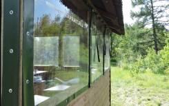 Мягкие окна для беседок и террас. Под заказ