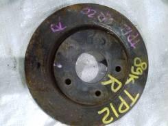 Диск тормозной. Nissan Almera Tino Nissan Primera Двигатели: QG18DE, QG16DE, YD22DDT, F9Q, QR20DE