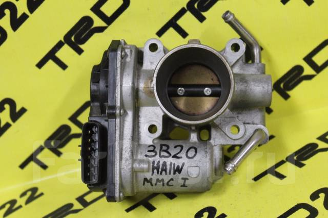 Заслонка дроссельная. Mitsubishi i, HA1W Двигатель 3B20