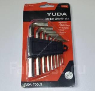 Набор шестигранников YUDA (ключи шестигранные) из 9 предметов!
