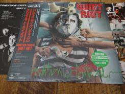 """Quiet RIOT-""""Condition critical""""(1984), made in Japan"""