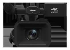 4K (UHD) / FHD Камкордер Panasonic AG-UX90. 15 - 19.9 Мп, с объективом