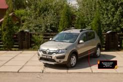 Накладка на дверь. Renault Sandero Stepway