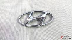 Эмблема решетки. Hyundai Solaris