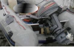 Yamaha. двигатель подвесной, бензин