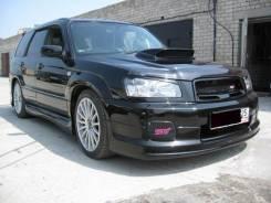 Обвес кузова аэродинамический. Subaru Forester, SG5, SG9