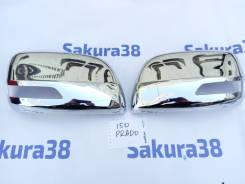 Накладка на зеркало. Toyota Land Cruiser Prado, GDJ151W, GDJ150L, GDJ150W, GRJ150