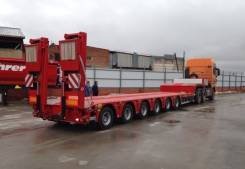 Kassbohrer. Новый низкорамный трал 93 т., 93 000 кг.