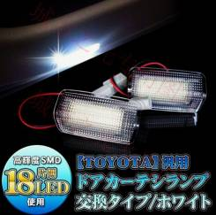 LED подсветка ног в дверь Toyota Prius ZVW30. Toyota Sai Toyota Prius, ZVW30. Под заказ