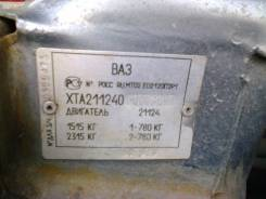 Двигатель 21124 1.6 блок 11193 Лада 2112,2111,2110