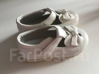 41e56bf10 Кожаные туфли Elegami (Россия) 21 размер для девочки Золотые ...