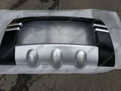 Накладка на бампер. Nissan X-Trail, NT31, T31, T31R, DNT31, TNT31 Двигатели: M9R127, MR20DE, QR25DE, M9R, M9R130, M9R110. Под заказ