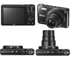Nikon Coolpix S6800. 15 - 19.9 Мп, зум: 14х и более