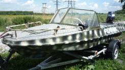 Обь-М. Год: 1990 год, длина 4,20м., двигатель подвесной, 30,00л.с., бензин