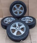 Fang 7JxR17 PCD 5x114,3 ЕТ48 Bridgestone Blizzak 225/65R17 зима 7-9мм. 7.0x17 5x114.30 ET48 ЦО 73,0мм.