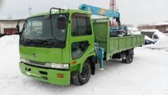 Nissan. Самогруз 5т, Ниссан 98г/в, Широкобазый, 7 000 куб. см., 5 000 кг.