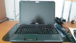 """MSI GT683. 15.6"""", 3,1ГГц, ОЗУ 8192 МБ и больше, диск 750 Гб, WiFi, Bluetooth, аккумулятор на 2 ч."""