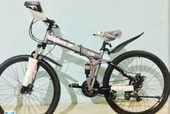 Новый складной горный велосипед Корея взрослый в наличии