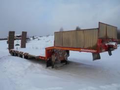Kassbohrer. Полуприцеп тяжеловоз LB5E, 59 640 кг.