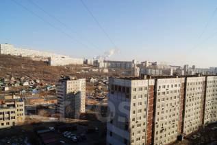 2-комнатная, улица Адмирала Кузнецова 92. 64, 71 микрорайоны, агентство, 52 кв.м. Вид из окна днём
