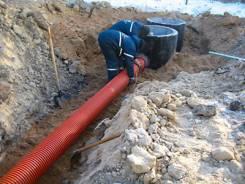 Монтаж систем канализации.