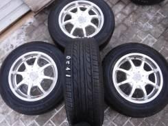 Dunlop Enasave EC202. Летние, 2013 год, без износа, 4 шт