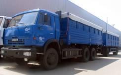 Камаз 53215. зерновоз с разгрузкой на три стороны, 7 777куб. см., 14 000кг.