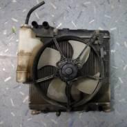 Радиатор охлаждения двигателя. Honda Jazz Honda Fit, GD3, GD2, GD1, LA-GD3, LA-GD4, LA-GD1, LA-GD2, UA-GD1 Двигатели: L13A2, L13A1, L15A