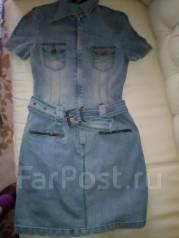 Платья джинсовые. 46, 48