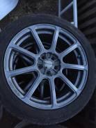 Отличные диски Monza Japan с жирной резиной 205/50 R17. 7.0x17 5x100.00 ET45 ЦО 73,1мм.