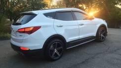 Спойлер. Hyundai Santa Fe