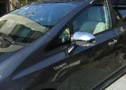 Накладка на зеркало. Toyota: Prius a, Wish, Mark X, Venza, Prius v, Prius. Под заказ