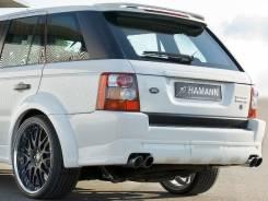 Юбка заднего бампера Land Rover Range Rover Sport