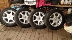 Продам колеса но литье R15 с отверстиями на 110 , 114 на летней резине