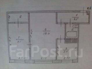 2-комнатная, Сельская. Кипарисово 1, частное лицо, 45 кв.м.