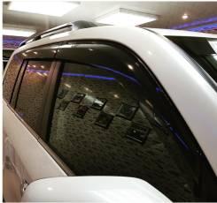 Ветровики Land Cruiser 200 2016 Качество. С надписью, в Благовещенске. Toyota Land Cruiser