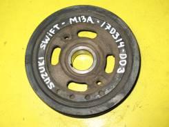 Шкив коленчатого вала, Suzuki Swift, HT51S, M13A. .