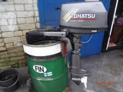 Tohatsu. 6,00л.с., 4х тактный, бензин, нога S (381 мм), Год: 2004 год