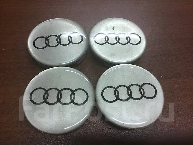 """Колпаки на литые диски на Audi (К65). Диаметр 17"""""""", 1шт"""