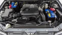 Двигатель в сборе. Mitsubishi Pajero Sport
