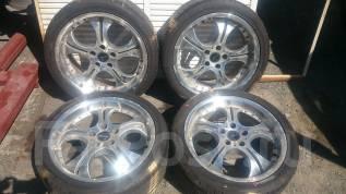 Комплект летних колес на литье R18 с резиной 265/35R18 Falken. 9.0x18 5x114.30