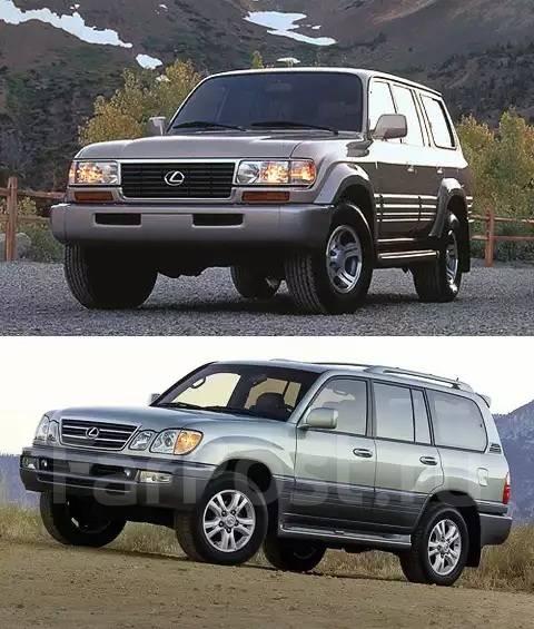 Подкрылок. Toyota Land Cruiser, FZJ100, FZJ105, HDJ100, HDJ100L, HZJ105, HZJ105L, J100, UZJ100, UZJ100L, UZJ100W Toyota Land Cruiser Cygnus, UZJ100W L...