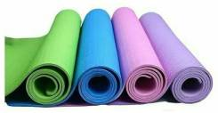 Коврик для йоги, 6 мм (173*61 см.)