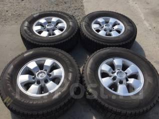 265/70 R16 Dunlop Grandtrek SJ7 литые диски 6х139.7 (К7-1618). 7.0x16 6x139.70 ET30