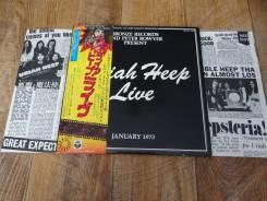 "Uriah HEEP-""Live""(1973), (2LP), made in Japan"
