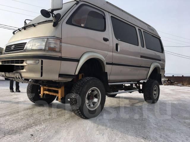 Проставка под пружину, проставка под кузов. Toyota Hiace, LH129, LH129V