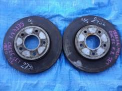 Диск тормозной. Nissan Serena, C25, CNC25, NC25, CC25 Двигатель MR20DE
